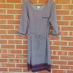 ❤2 for $20 Merona boho shift dress size medium